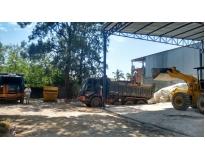 limpeza de terreno para construção no Parque Oratório