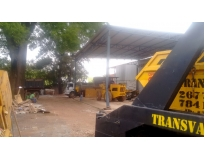 limpeza de terreno para construção