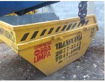 onde encontrar caçamba para retirar lixo em Camilópolis