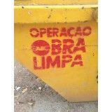 Onde encontrar empresa de caçamba para lixo de obra na Vila Luzita