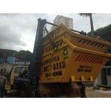 Onde fazer locação de caçamba para lixo na Vila Dora