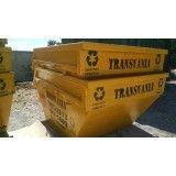 Preço para locação de caçamba de lixo em Baeta Neves
