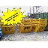 Preços de locação de caçamba para lixo no Centro