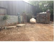 procuro caçamba para retirar lixo no Parque João Ramalho
