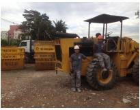 procuro empresa de caçamba para retirar lixo no Alto Santo André