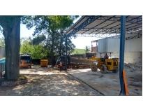 procuro serviço de remoção de lixo com caçamba na Vila Eldízia