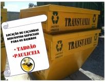 procuro serviço de remoção de lixo com caçamba no Jardim Telles de Menezes