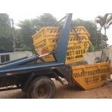 Qual o preço de serviço de aluguel de caçamba na Vila Palmares