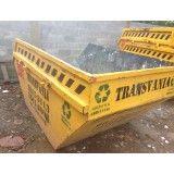 Qual o valor de locação de caçamba para lixo na Vila Vitória