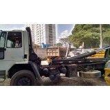 Remoção de lixo de obra de obras na Vila Alice