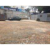 Remoção de terra qual o valor na Vila Gilda