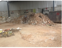 remover lixo com caçamba preço na Vila Curuçá