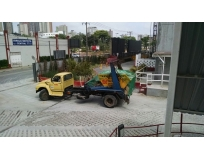 remover lixo com caçambas no Parque João Ramalho