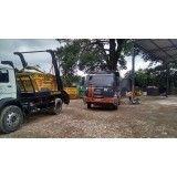 Retirada de terra de obras na Vila Dora