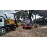 Retirada de terra de obras na Vila Humaitá