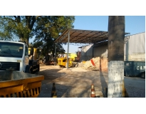 retirada de terra de terreno em São Caetano do Sul