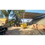 Serviço de caçamba para locação para obras pequenas no Jardim Santo André
