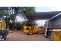 serviço de limpeza de terrenos na Vila Sacadura Cabral