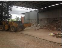 serviço de remoção de lixo com caçamba na Bairro Jardim