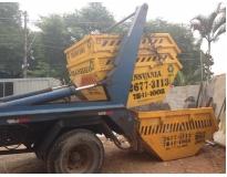 serviço de remoção de lixo com caçamba preço na Bairro Santa Maria