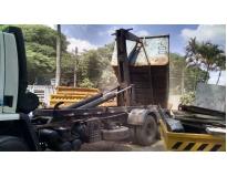 serviço de remoção de lixo com caçamba preço na Vila Luzita