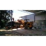 Serviço de remoção de lixo de obra no Taboão