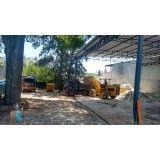 Serviço de remoção de lixo de obras na Vila Gilda
