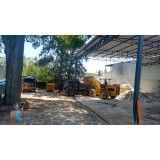 Serviço de remoção de lixo de obras na Vila Luzita