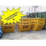 Serviço de retirada de terra de construções na Vila São Pedro