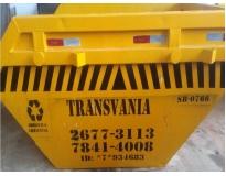 serviços de remoção de lixo com caçamba no Centro