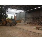 Site de empresa de aluguel de caçambas na Vila Camilópolis