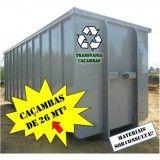 Site para locação de caçamba para lixo pós obra em Baeta Neves