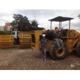 Sites de empresas que façam locação de caçamba de lixo no Jardim Carla
