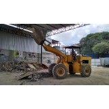 Valor para remoção de terra na Vila Apiay
