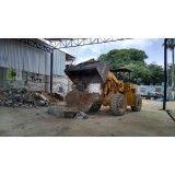 Valores de serviço de remoção de terra no Taboão