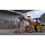 Valores para remover lixo de obra na Vila Progresso