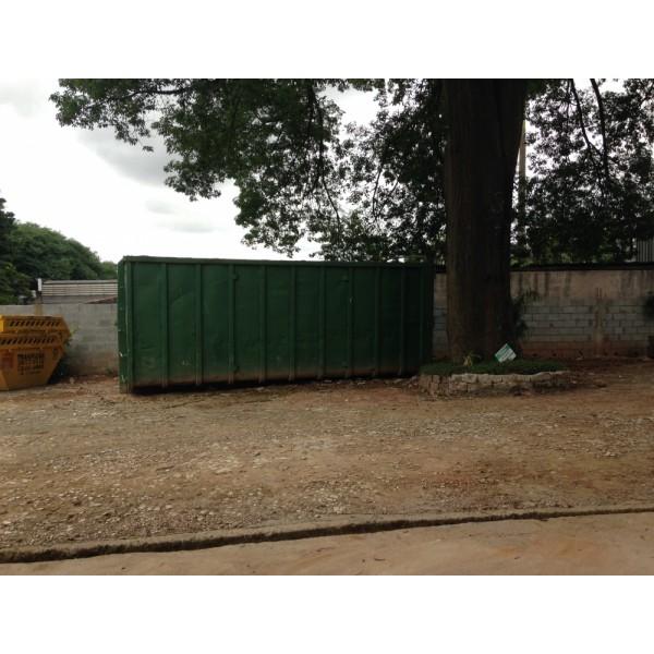Valor de Serviço de Aluguel de Caçamba no Bairro Campestre - Aluguel de Caçamba