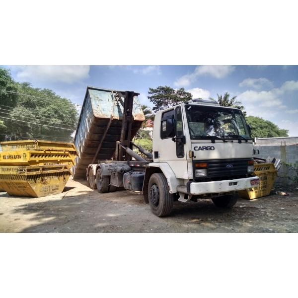 Valor de Serviços de Locação de Caçamba de Lixo na Vila Cecília Maria - Caçamba para Remoção de Lixo