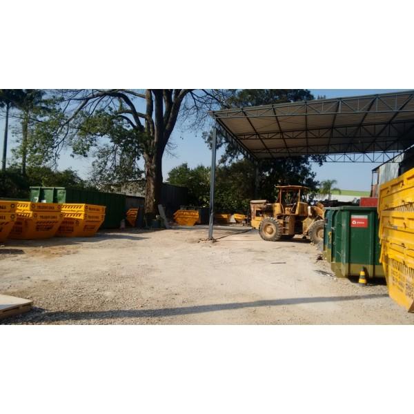 Valor para Alugar Caçamba na Vila São Pedro - Caçamba de Entulho Preço Aluguel