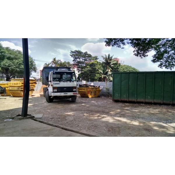 Valor para Locação de Caçamba de Lixo no Jardim Utinga - Caçamba de Lixo de Obra