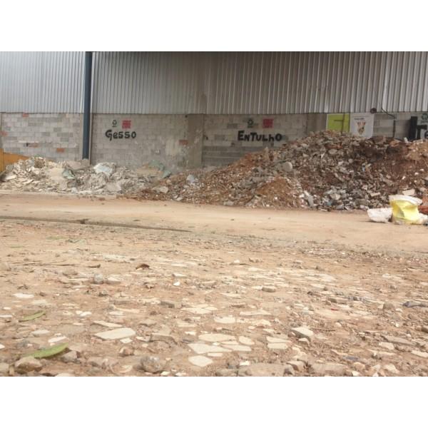 Valor para Locação de Caçamba para Entulho em Santo André - Caçamba de Entulho em Diadema